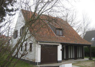 Schilderwerken Vandaele schilderen exterieur villa Oostduinkerke
