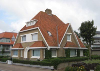 Schilderwerken Vandaele schilderen exterieur villa Koksijde