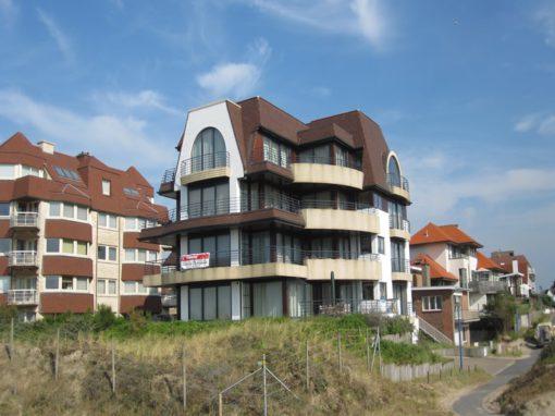 Exterieur residentie Oostduinkerke