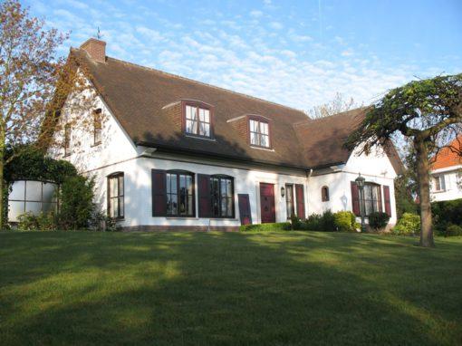 Exterieur villa's Koksijde