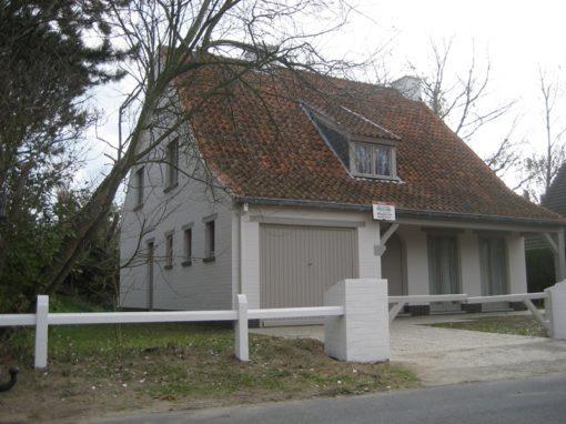 Exterieur villa Oostduinkerke
