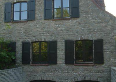 Schilderwerken Vandaele schilderen exterieur villa schrijnwerk