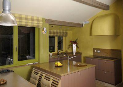 Schilderwerken Vandaele schilderen interieur Spaanse villa Koksijde