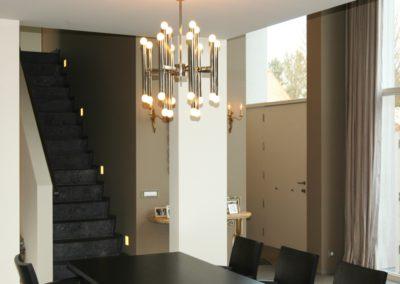 Schilderwerken Vandaele schilderen interieur moderne villa Oostduinkerke