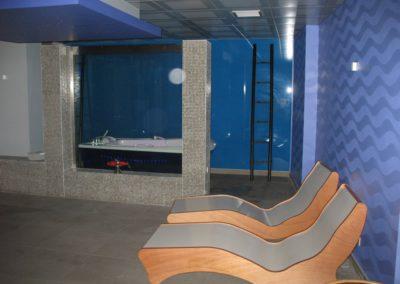 Schilderwerken Vandaele schilderen interieur sauna