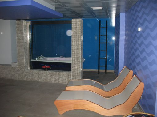 Interieur sauna